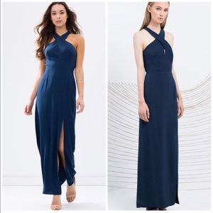 Keepsake the Label Motionless Maxi Dress in Fig